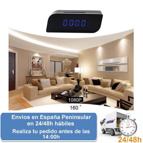 Despertador con camara de seguridad espia con wifi 1080p hd Envio express