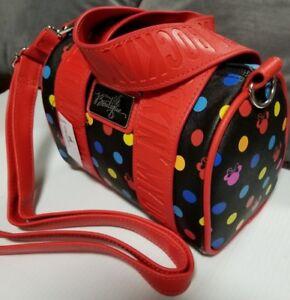DISNEY-Purse-Handbag-Minnie-Mouse-ROCKIN-039-MY-DOTS