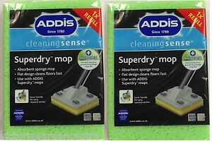 Addis Superdry Mop Refill Twin Pack