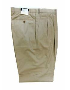 Burberry-Vintage-Classic-Trousers-Tailored-Cotton-Beige