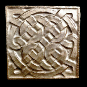 Celtic Decorative Tile Kitchen Backsplash In Bronze Finish Ebay