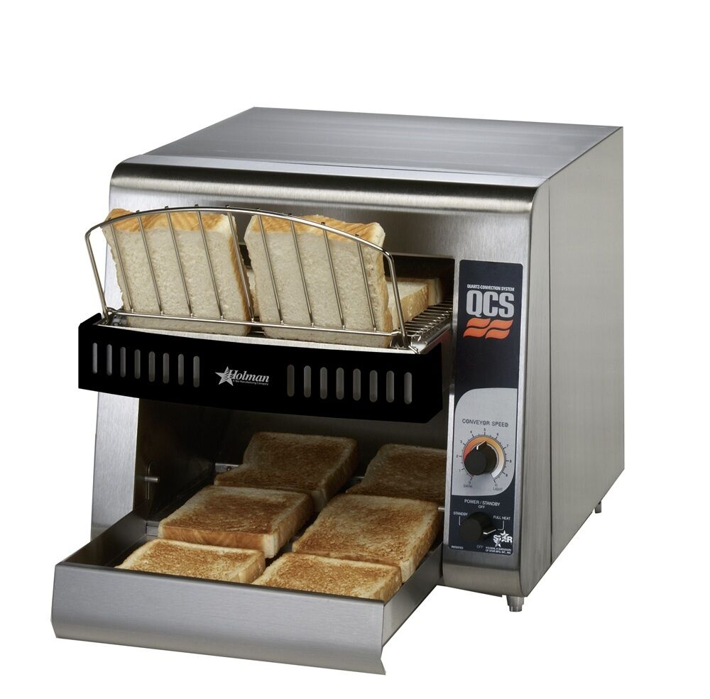 Star QCS1-350 Holman 10in Wide Conveyor Toaster 350 Bread Slices per Hour