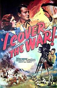 I-Cover-the-War-1937-Arthur-Lubin-John-Wayne-Vintage-b-w-War-Film-DVD