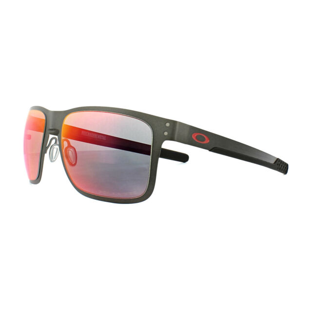 9c2885131f0 Oakley Sunglasses Holbrook Metal OO4123-05 Matt Gunmetal Torch Iridium  Polarized