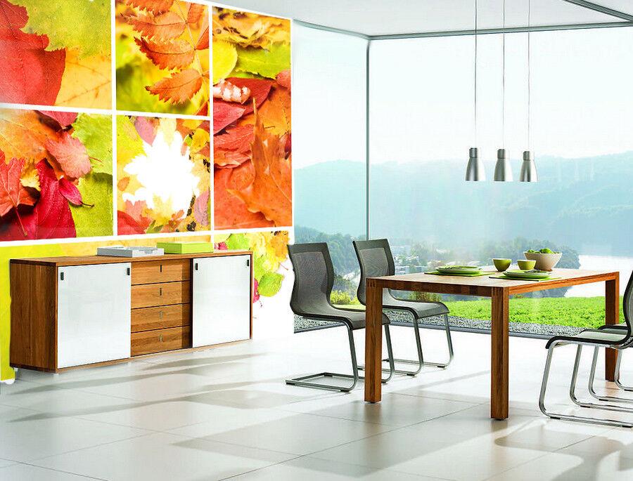 3D Blätter Stil 863  Tapete Wandgemälde Tapete Tapeten Bild Familie DE Summer
