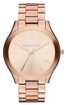 Michael Kors Women's MK3197 Runway Rose Gold-Tone Stainless Steel Watch