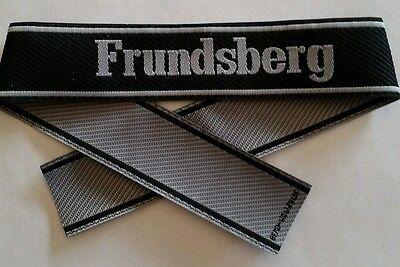 Bande de bras Ärmelband Bevo FRUNDSBERG  WWII - Repro