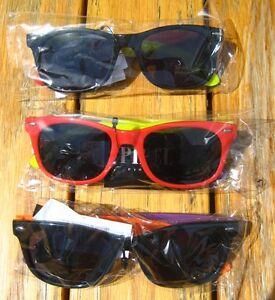 Pipel-Kult-Nerd-Sonnenbrille-Retro-Brille-Hornbrille-bunt-Kinderbrille-cool-NEU