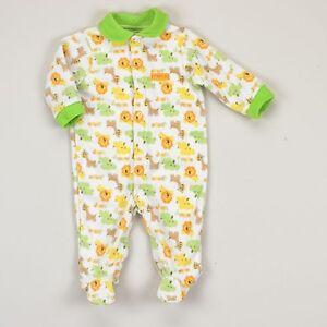 15fa266eb NEW NWT Boys Carter s 3-6 Months Fleece Sleep and Play Sleeper ...