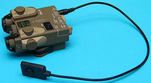 G&P peq-15a rojo ir Doble Laser Iluminador Designador gp959s Arena (juguete)