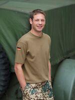 Bw Tropen T-shirt Mit Hoheitsabzeichen Gem. Tl - Bundeswehr Tropen Shirt