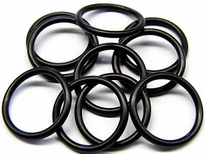 O Ringe Null Ring Dichtring 2 Stück Innen Ø 28 mm x 2,5 mm Schnurstärke NBR 70,