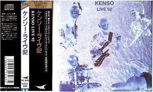 KENSO-Live-92-CD-Japan-Prog-Rock-Fusion-Original-Press-w-Obi-92
