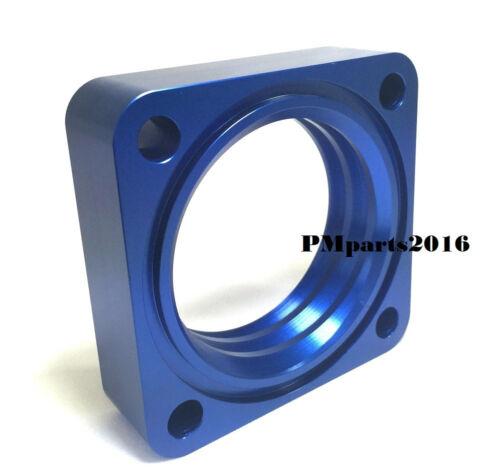 Blue Throttle Body Spacer for 91-94 95-98 Nissan 240SX 2.4L KA24DE 240 sx