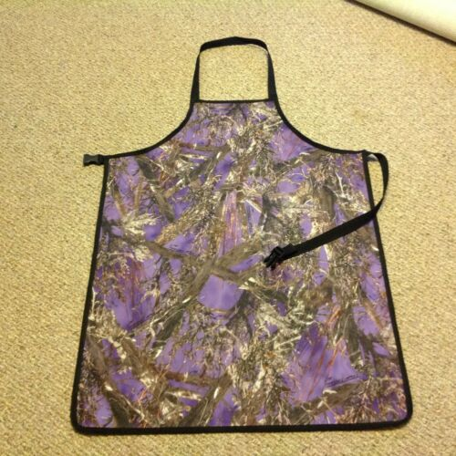 CAMOUFLAGE Purple  Repels Water  Aprons