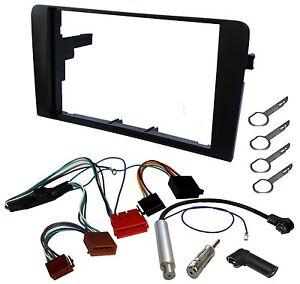 Kit-adaptateur-2DIN-autoradio-cadre-faisceaux-pour-Audi-A3-avec-systeme-Symphoni