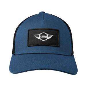 c21086dc1 Details about MINI Genuine Unisex Logo Patch Trucker Baseball Cap 5 Panels  Snapback Adjuster