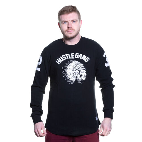 T.I Hustle Gang Long Sleeve Embroidered Thermal Authentic Fast Ship