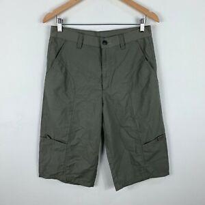Kathmandu-Shorts-Mens-Size-XS-W29-30-Khaki-Cargo-3-4-Length-Hiking