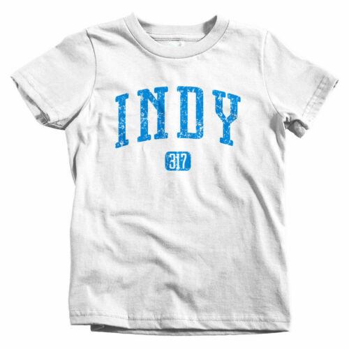 Indy 317 Indianapolis Kids T-shirt Baby Toddler Youth Tee IN Indiana 500