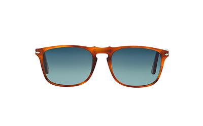 2bfdb817d4 NWT Persol Sunglasses PO 3059S 96S3 Polarized Terra Di Siena  Gradient Blue  54mm