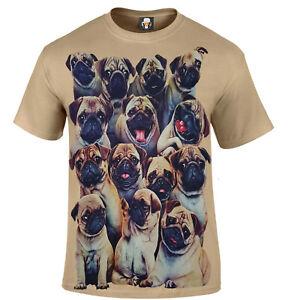 a79bcda20 PUGS T-Shirt/Funny/Cute/Pugs Life/Christmas Xmas Gift/The Pug Father ...