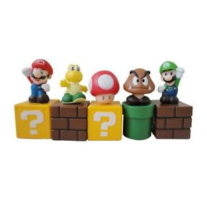 Lot-5-pcs-Super-Mario-Bros-Mini-Action-Figure-PVC-Doll-Toy-2-034-Goomba-Luigi-Koopa