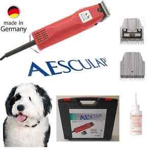 Tondeuse pour chien Aesculap Gt104 Favorita 2, 3 mm pour rasage d'animaux à tête de rasoir