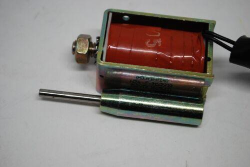 Conjunto De Válvula Solenoide Kuhnke H24-F-HS2210 150VDC usado en sistemas de bloqueo