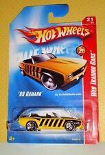 2008 Hot Wheels Web Trading Cars #097 '69 Camaro - Honey Bee - Variant