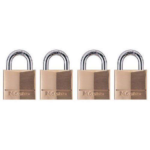 Solid Brass 3//4-inch Master Lock 120Q Keyed-Alike Wide Padlocks