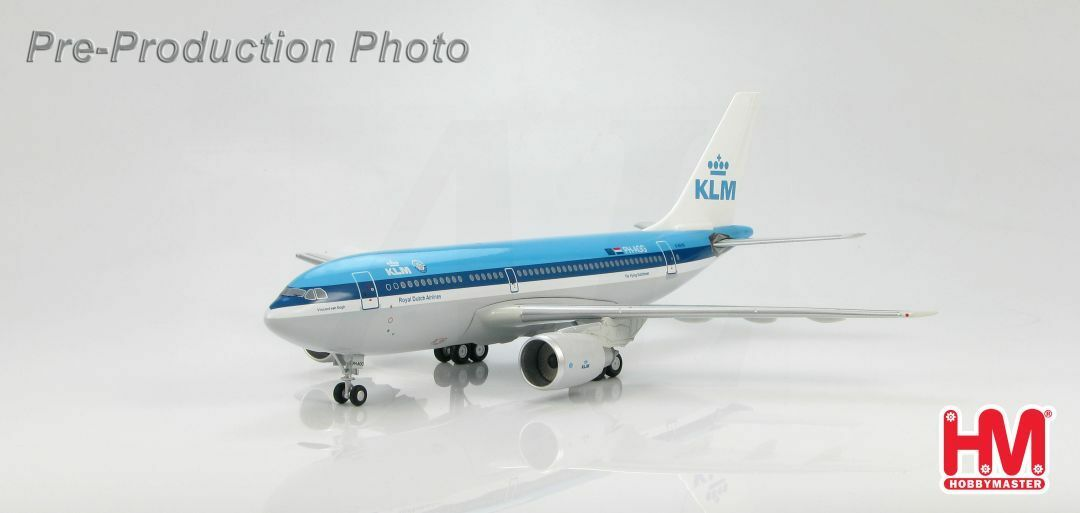 Hobby Master HL6009, Airbus A310 KLM Royal Dutch Airlines  PH-AGG  , 1 200