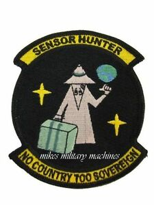 Nro Sensor Hunter Area 51 Military Intelligence Space Black Ops Covert Patch