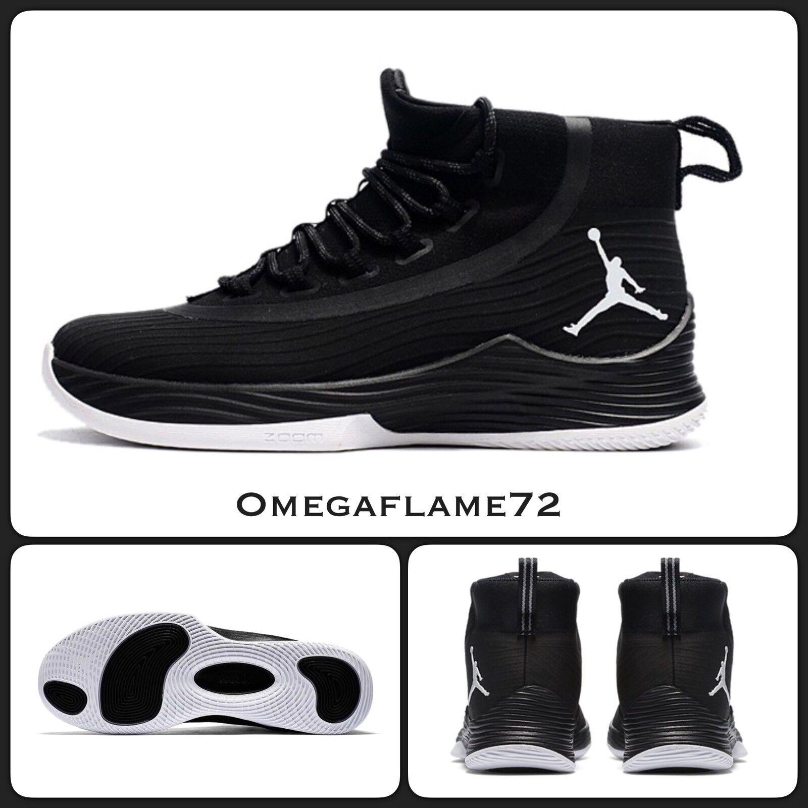 Nike Air Jordan Ultra Fly 2 897998-010, US 8.5, Black& White
