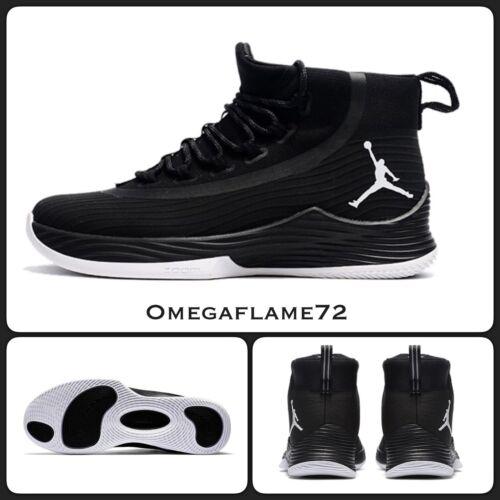 Eu 41 Nike Air Jordan Ultra Fly 2 897998-010 Noir /& Blanc UK 7 US 8