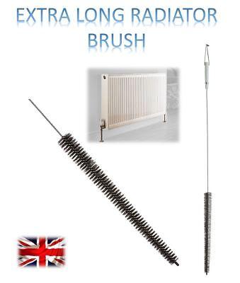 Long Reach Flexible Radiator Heater Heating Bristle Brush Dust Cleaner us