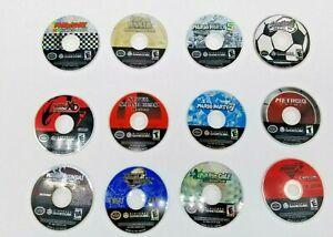 Lot-of-12-RARE-Nintendo-Gamecube-Games-Disc-Only-Paper-Mario-Pokemon-XD-Super