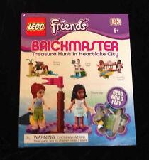 NEW Brickmaster LEGO Friends Treasure Heartlake City Book Dorling Kindersley