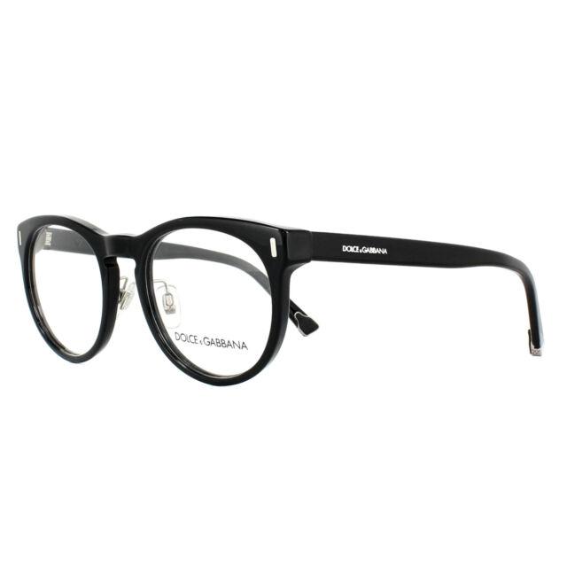 f5b3f72db8b Dolce   Gabbana Glasses Frames DG 3240 501 Black 51mm Mens