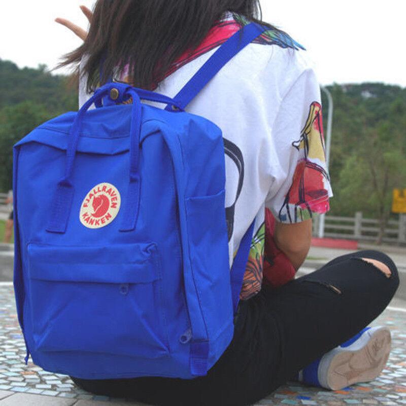 20L/16L/7L Fjallraven Kanken unisexe voyage sac à dos bandoulière sac d'école FR 3