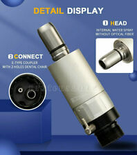 Dental 2 Hole Air Motor Micromotor For Contra Angle Handpiece D