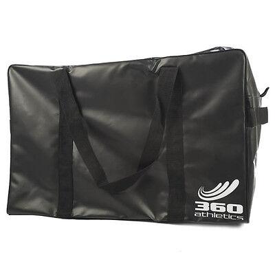 "New 360 Athletics hockey goalie equipment bag 40"" black ice goal gear lacrosse"