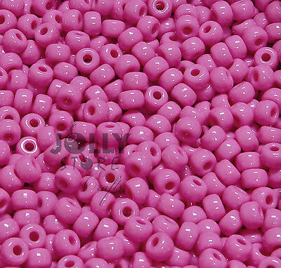 250pc Hot Pink 11x8mm Large Pony Beads for bird toys hair crafts jewelry