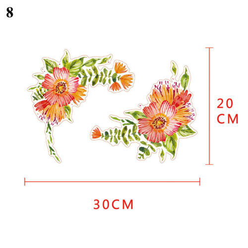 NEW Peony Flowers Wall Stickers Removable Vinyl Living Room Home Wall Art Decor