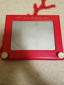 Ohio Art Magic Etch A Sketch Drawing Screen With Dials Classic Toy