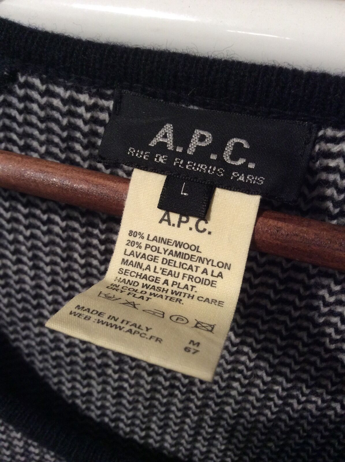 100% Authentic Ladies A.P.C A.P.C Ladies Knitted Jumper a843ca