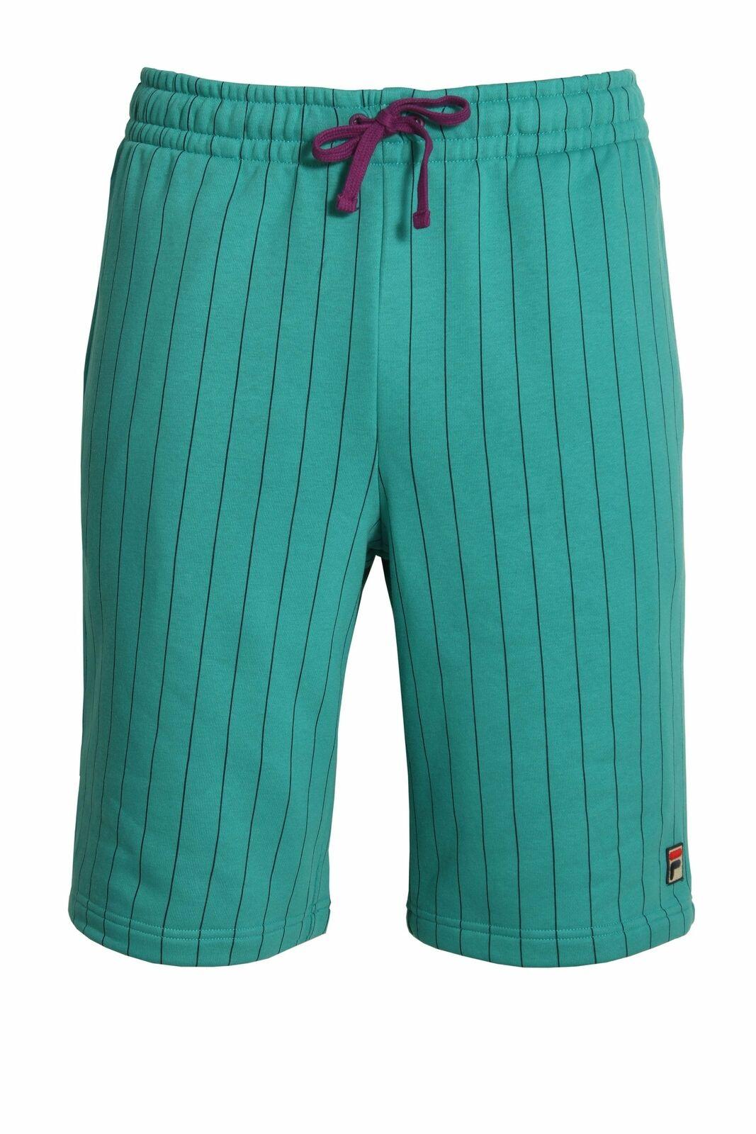 86df822e70e8a6 Mens Gym FILA VINTAGE Pinstripe Shorts Biscay Bay Shorts BB1 ...