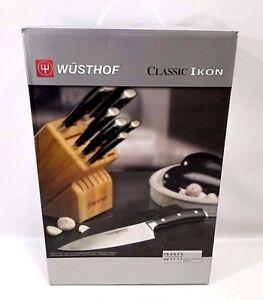 Image Is Loading WUSTHOF Classic Ikon 12 Piece Knife Block Set