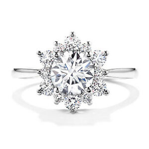 1-10-Carat-Round-Diamond-Ring-14K-Real-White-Gold-Wedding-Ring-Size-M-N-O-P-1-2