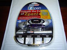 NEW Dane-Elec Zpen Live Ballpoint Digital Pen System w//1GB USB Receiver-Canada
